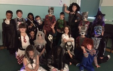 Year 4 had a blast at the Halloween disco!
