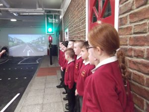 Next up, a one that we all needed a refresher about, was road safety.