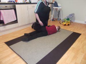 Let's find out how to put Peter in the recovery position