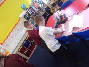 We love it when children volunteer to help each other!