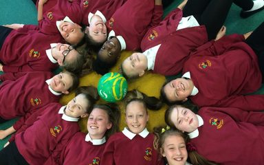 Year 5/6 Girls Football Cluster Tournament