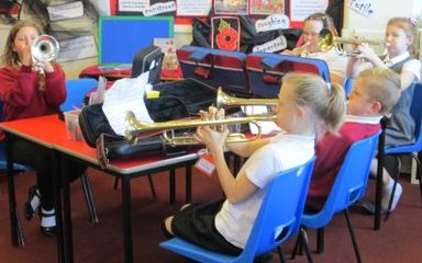 Y5b start trumpet / cornet lessons!