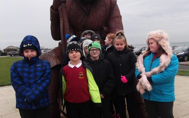 Visiting Tommy at Seaham