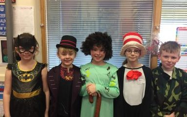 World Book Day in Year Four