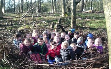 KS1 visit West Boldon Lodge