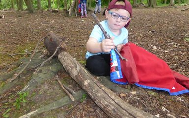 Fairy Tale Trail at Gibside
