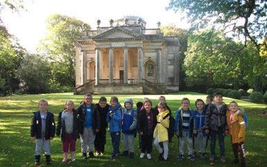 Year 2 visit to Gibside