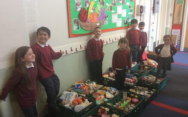 Supporting Our Community Food Bank