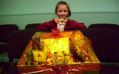 Winner of our chocolate hamper!
