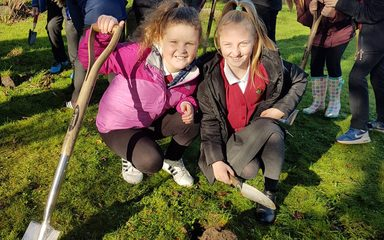 Y5/6 Green Fingers at St Alban's Church