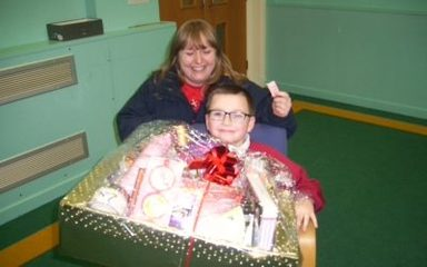 Winner and runner up of our hampers.