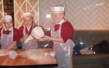 Year 5/6 Pizza Express Visit
