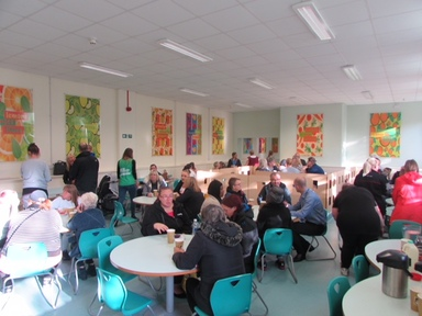 Carr Hill's Macmillan Coffee Morning